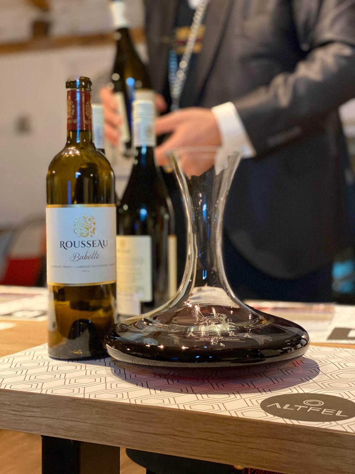 Degustare de vinuri din Lumea Noua-Rousseau Wines,un triptic senzorial Sud African