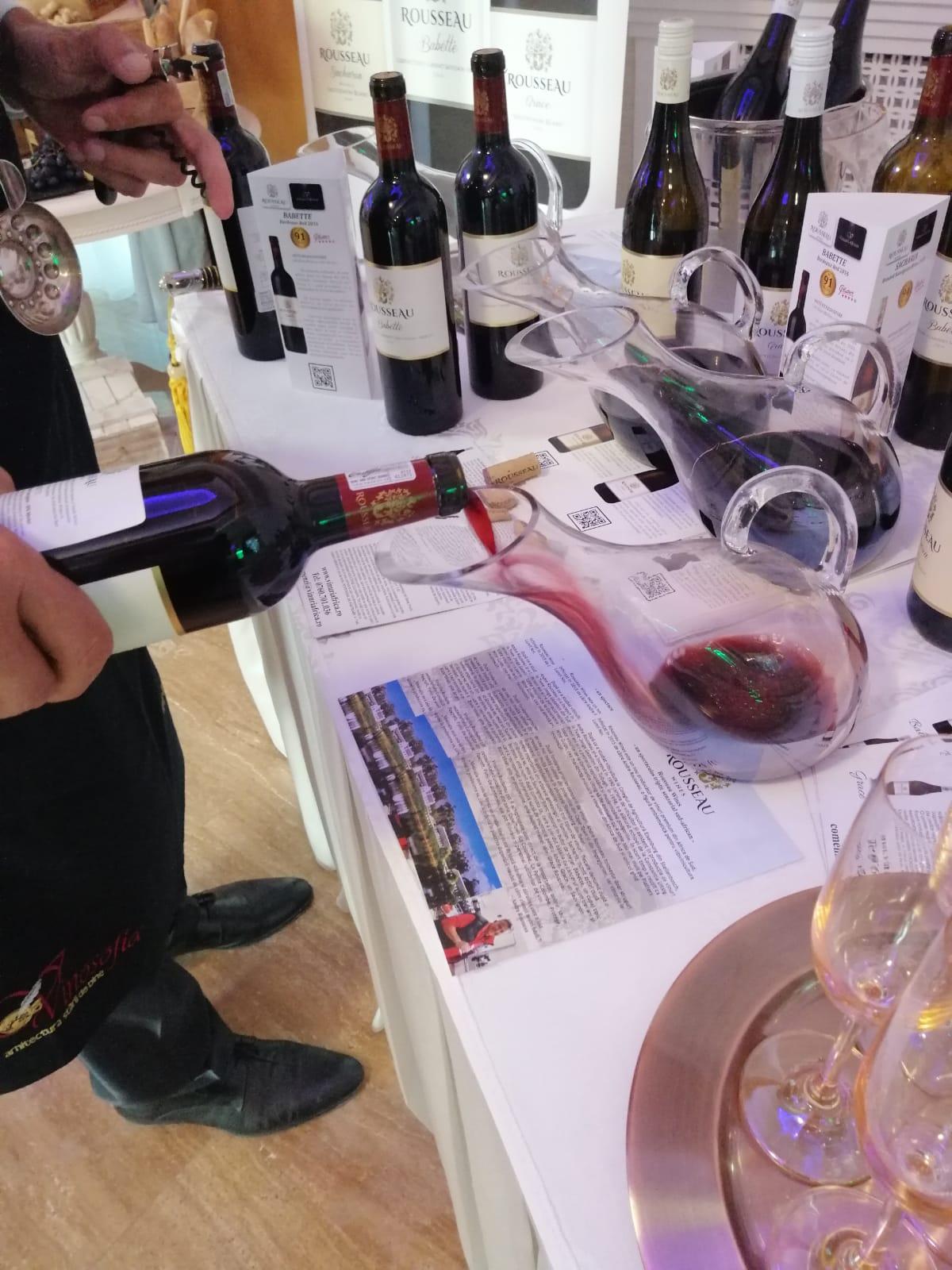 Rousseau Wines in restaurants